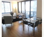 Midtown West.  One Bedroom w/ Balcony. Luxury Building. Pool. Fitness center. Central Park. NO FEE