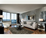 Midtown West. King Sized One Bedroom w/ Balcony. Fabulous City Views. Pool. Health Club. Lounge. NO FEE