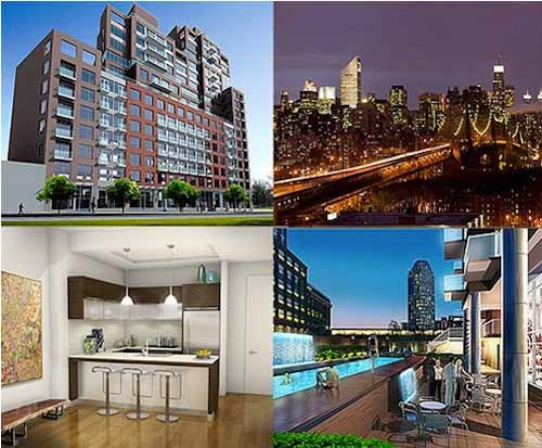 LONG ISLAND CITY - QUEENS PLAZA HUGE 3-BED + TERRACE, NEW LUXURY BLDG *NO FEE*, FREE 2 MONTHS RENT