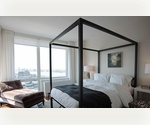 *NO FEE* Magnificent Luxury One Bedroom with  Breathtaking Views of Manhattan Skylines