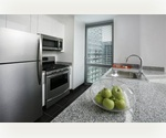 Hells Kitchen  Luxury 1 bedroom/1 bath near Hudson Yards with balcony for $3,325